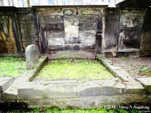 15th Earl's Memorial carved in granite