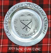 Clan Cunningham Best Clan Tent 2003